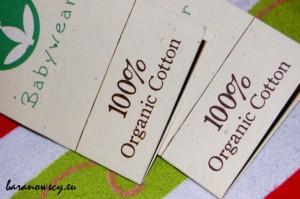 100% organic cotton