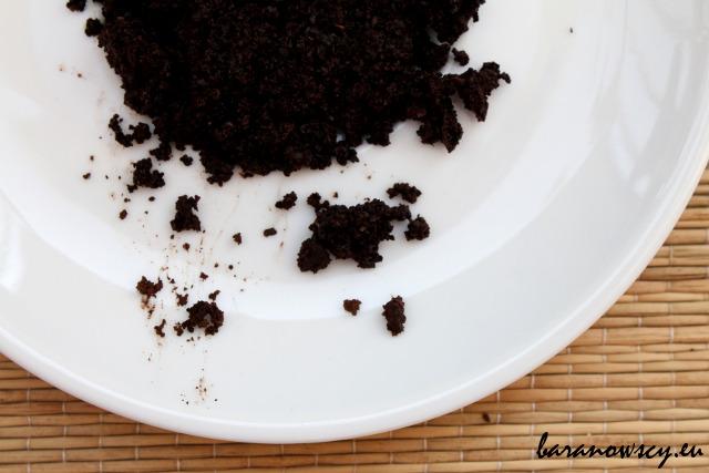 Peeling z fusów kawowych