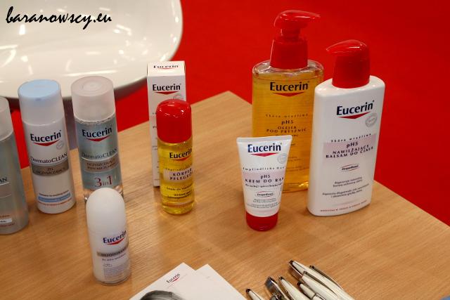 Kosmetyki Eucerin.