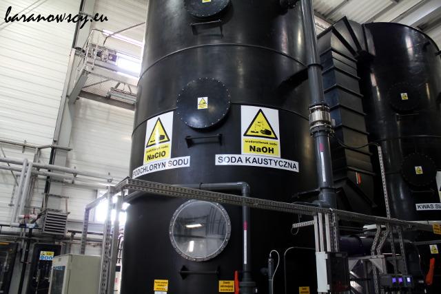 Dezodoryzacja powietrza z zamkniętych zbiorników.
