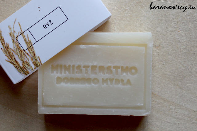 Mydło Ministerstwa Dobrego Mydła z ryżem