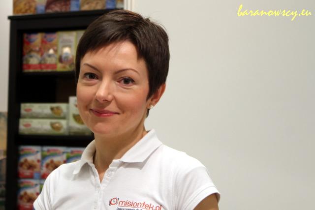 Anna Wojno z misiontek.pl.
