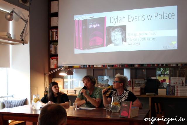 Spotkanie z Dylanem Evansem.