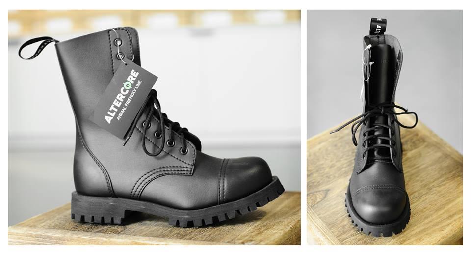 Wegańskie buty.