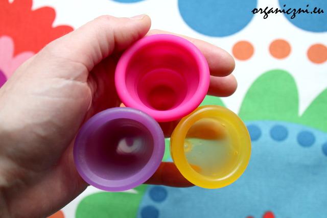 Porównanie kubeczków: Lily Cup compact, MeLuna i LadyCup