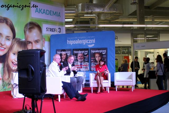 Panel dyskusyjny Hipoalergicznych - niestety, nie zdążyłam zatrzymać się na dłużej