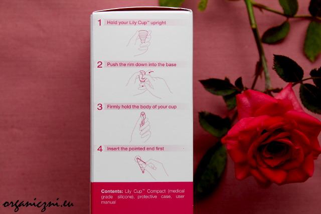 Kubeczek menstruacyjny Lily Cup compact
