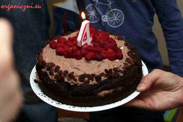 Wegański tort bezglutenowy