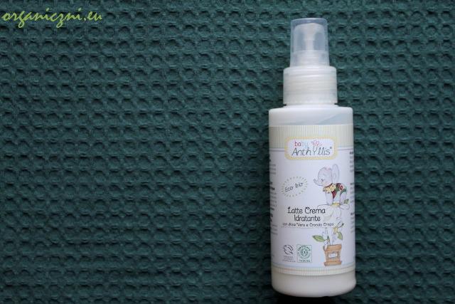 Anthyllis Baby – mleczko-krem nawilżający