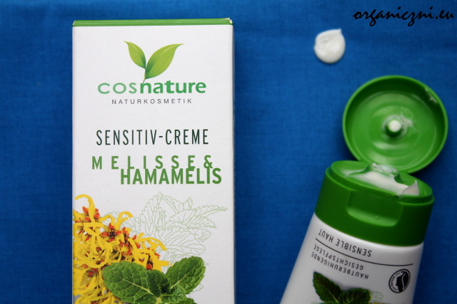 Cosnature – naturalny łagodzący krem do skóry wrażliwej