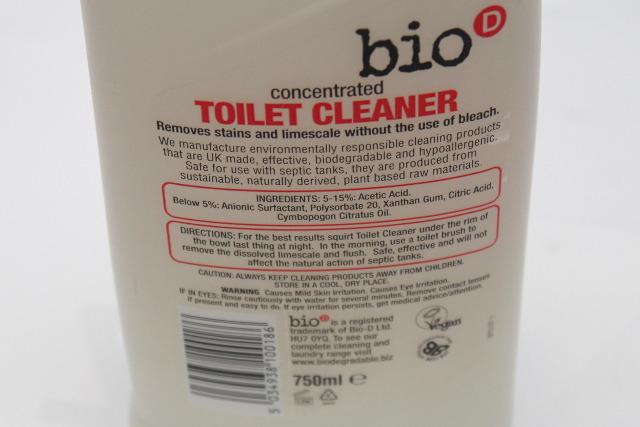 Skoncentrowany płyn do WC Bio-D