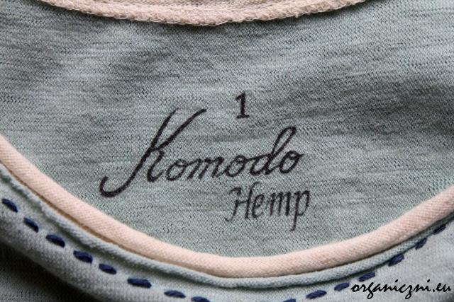 Koszulka Komodo z konopi
