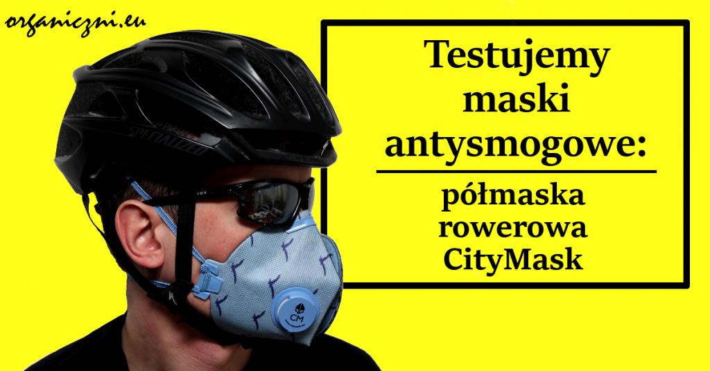 Półmaska rowerowa CityMask