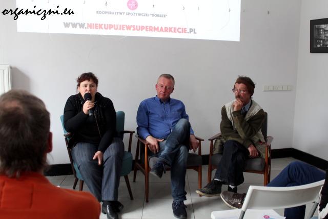 Edyta Jaroszewska-Nowak, Sławek Serwach i Zbyszek Chajęcki