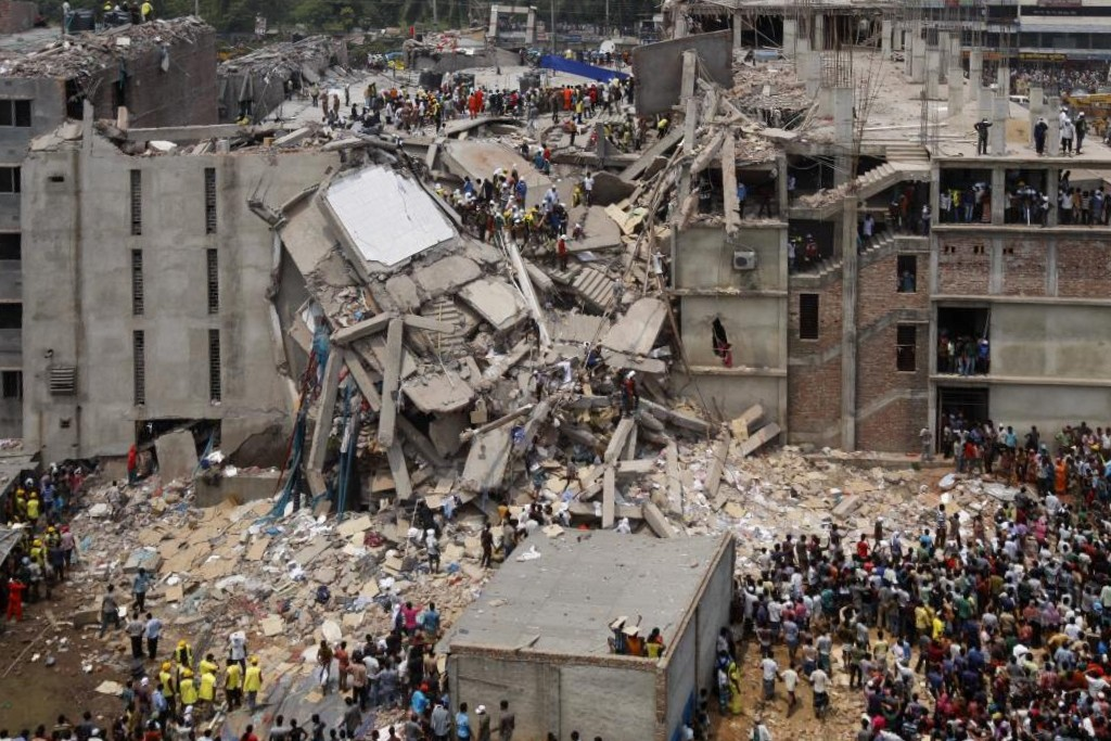 Katastrofa budowlana, Rana Plaza, Szabhar Bangladesz 2013 r.
