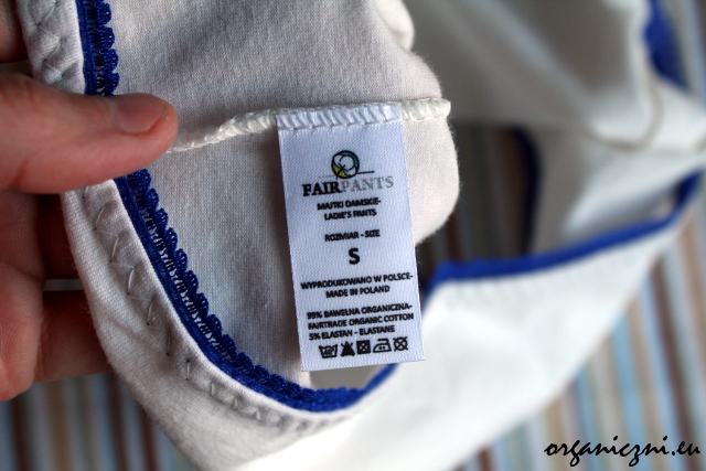 Fairpants - białe bokserki