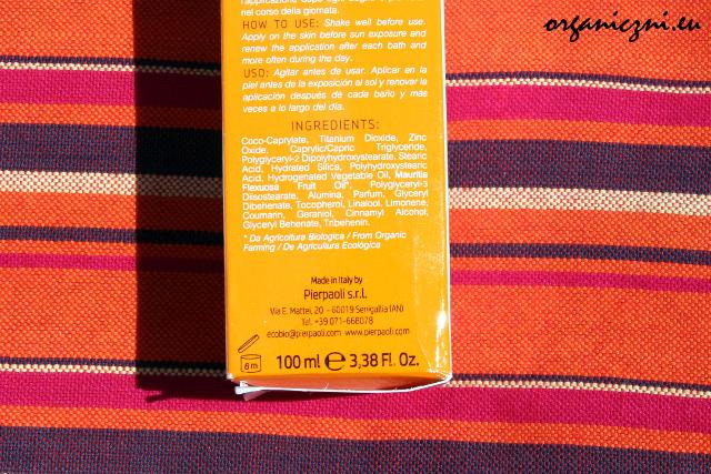Anthyllis krem przeciwsłoneczny SPF 30, skład
