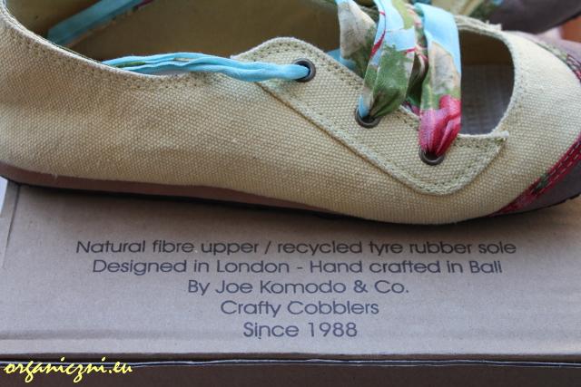 Etyczne buty - baleriny Komodo