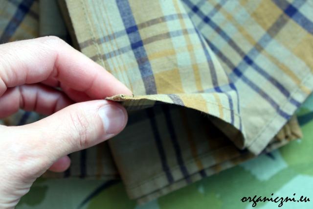 Polecam chusteczki z dobrej bawełny - nie podrażni nam nosa