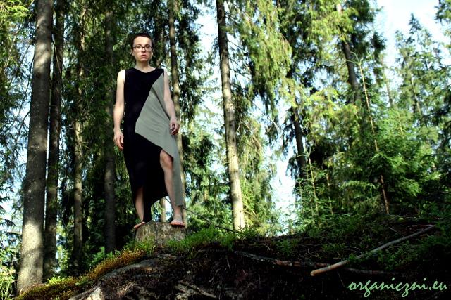 Sukienka KOKOworld Triangle Organic Olive