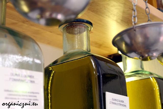 Butla z oliwą