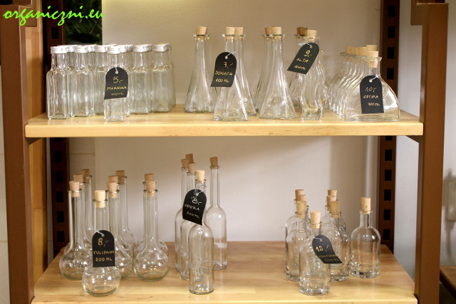Buteleczki na oleje, oliwy i octy