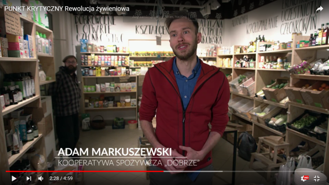 """""""Rewolucja żywieniowa"""", Adam Markuszewski"""
