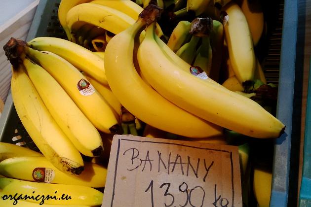 Banany Milagros w Kooperatywie Spożywczej Dobrze
