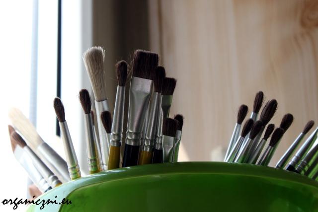 Pędzelki do malowania