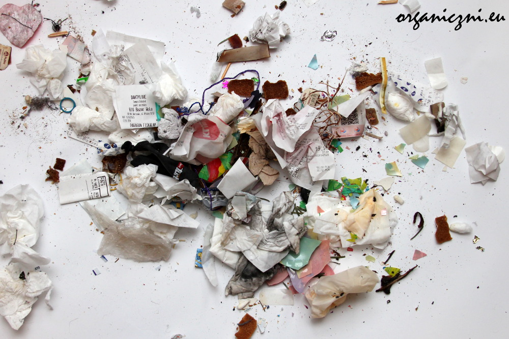 Styczniowe odpady zmieszane po selekcji