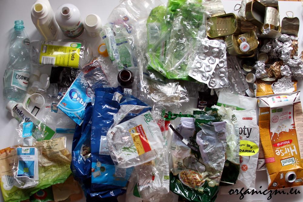 Styczniowe odpady, plastik i metal