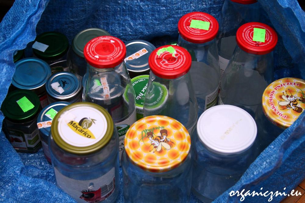 Styczniowe odpady, słoiki