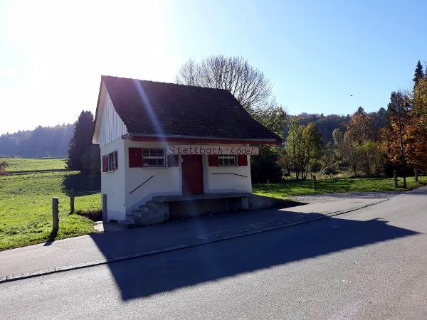 Dübendorf,na granicy Stettbachu / Dübendorf, milk vending machine in Stettbach-Lädeli