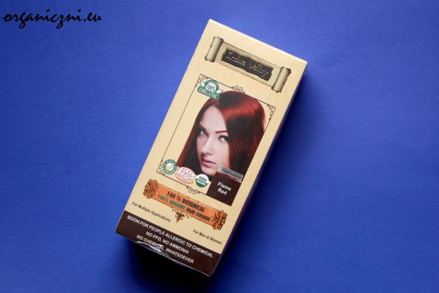 Farba do włosów Indus Valley, płomienny rudy