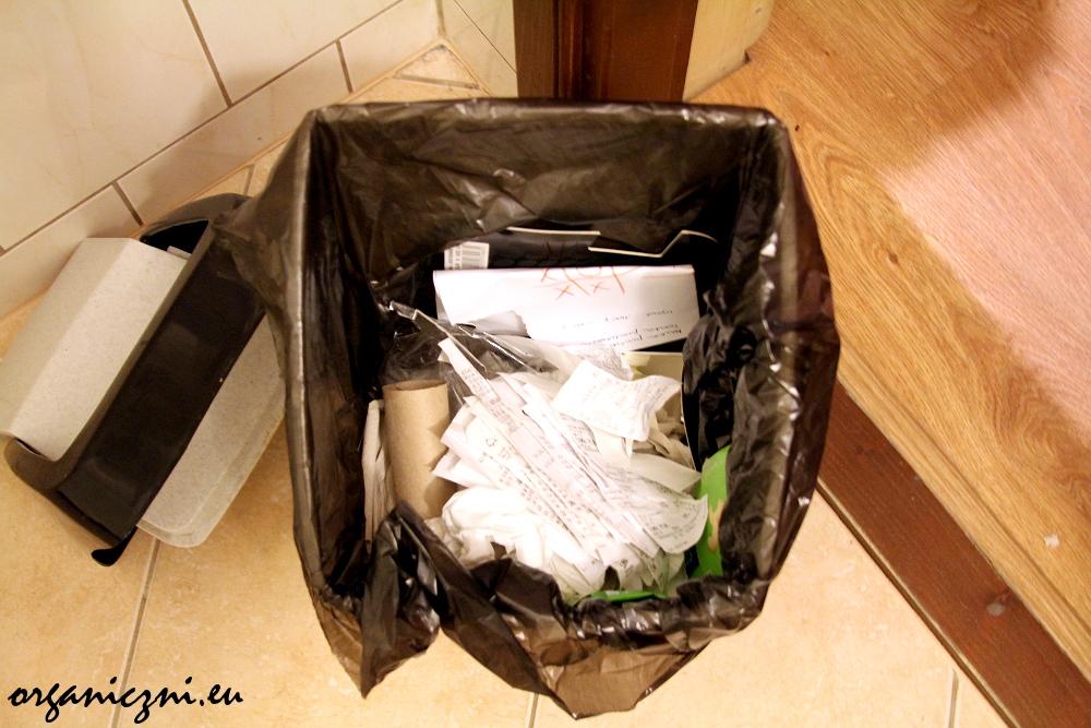 Śmieci na wyjeździe