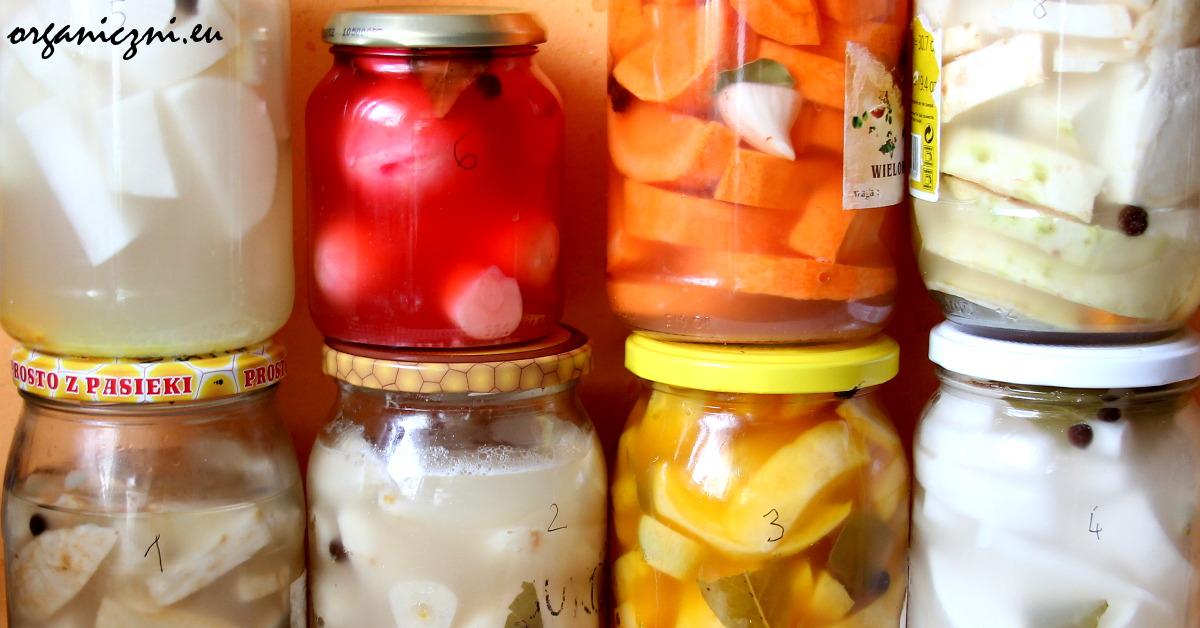 Kiszonki nadadzą zimowej kuchni kolorów