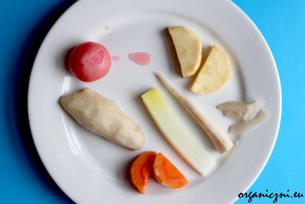 Przegląd kiszonek: topinambur, rzodkiewka, buraki, cebula, pietruszka, rzodkiew, marchewki