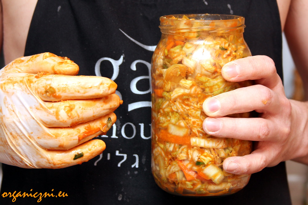Nastawianie kimchi