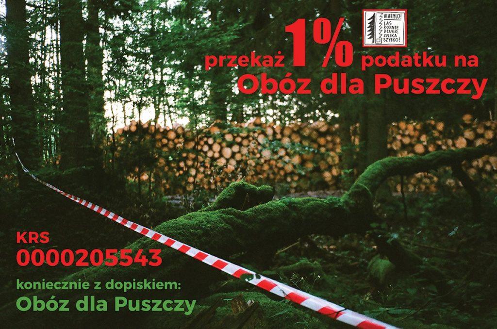 1% dla Obozu dla Puszczy