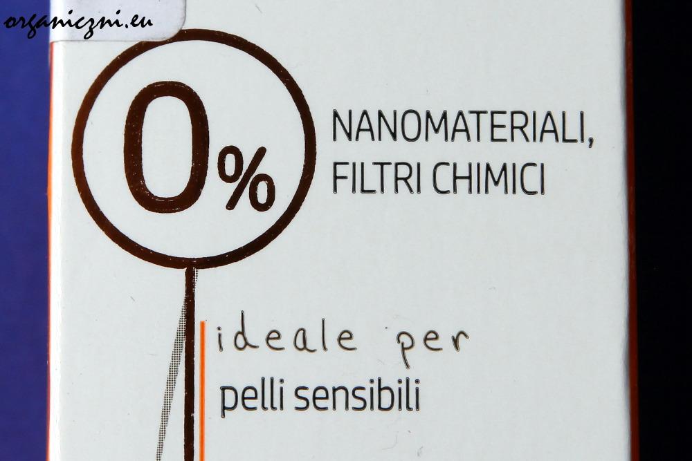 0% nanocząsteczek i 0% filtrów chemicznych