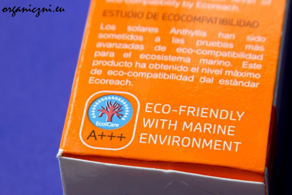 Certyfikat EcolCare A+++