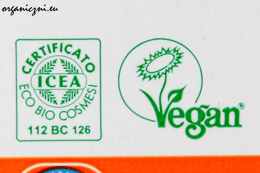 Certyfikat ICEA i Vegan