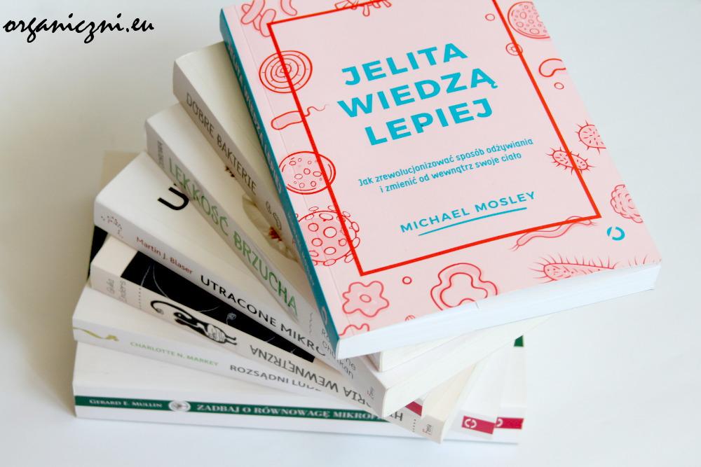 Książki o jelitach