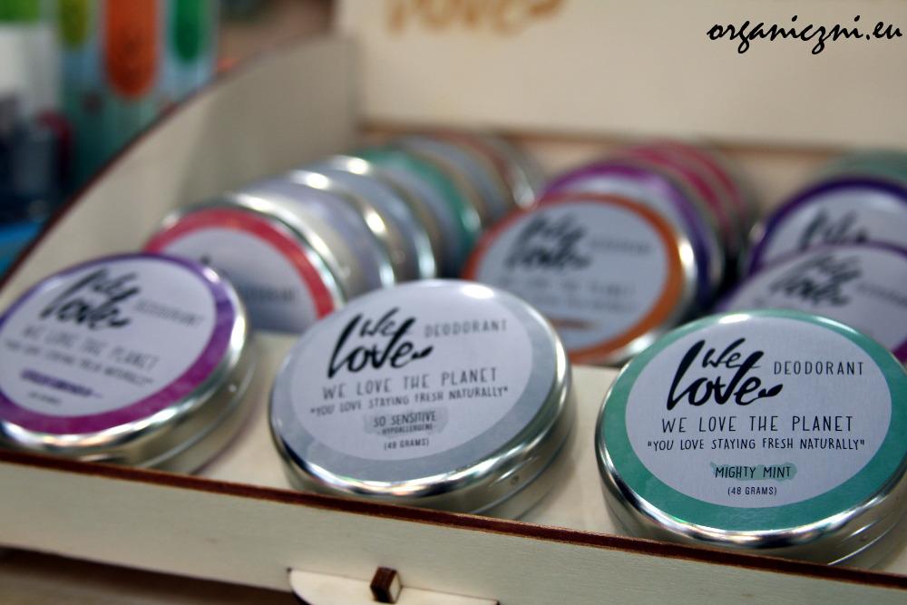 Wybór dezodorantów We Love The Planet