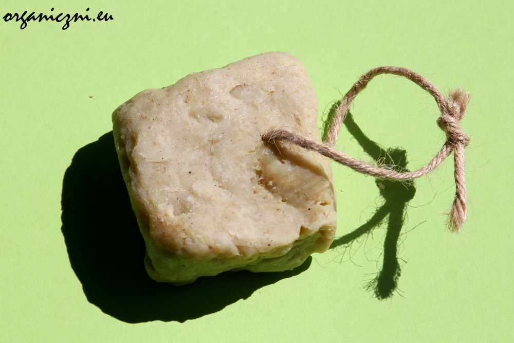 Mydło do włosów z glinką multani mitti i neem