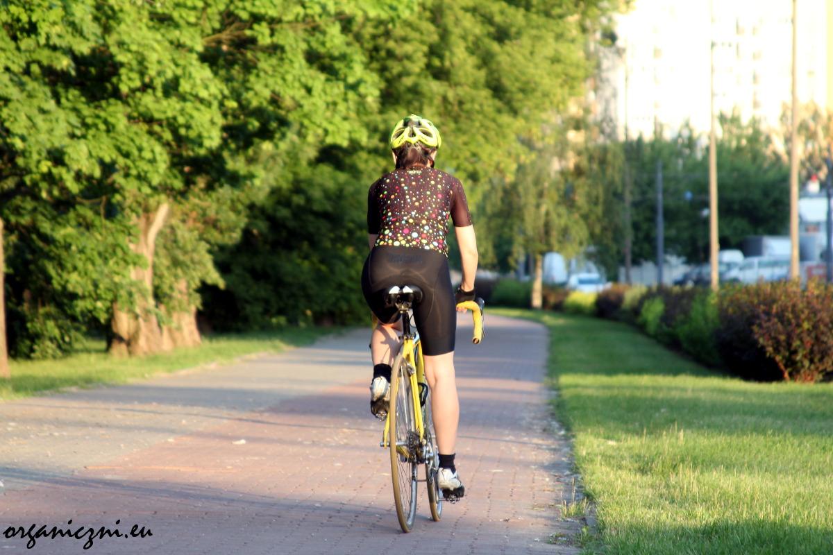 Testuję nowe ubrania kolarskie (Trofeo)
