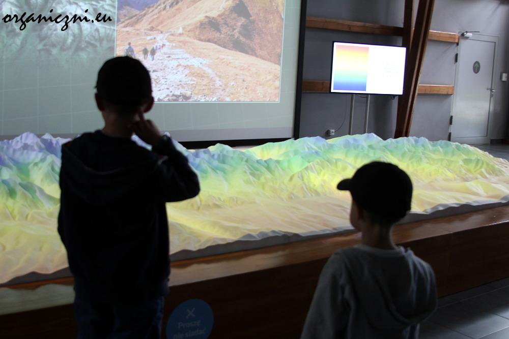 Centrum Edukacji Przyrodniczej, makieta Tatr