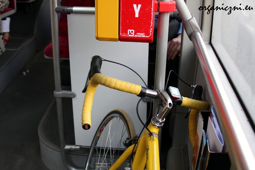 Jeśli jest miejsce, rower może pojechać autobusem