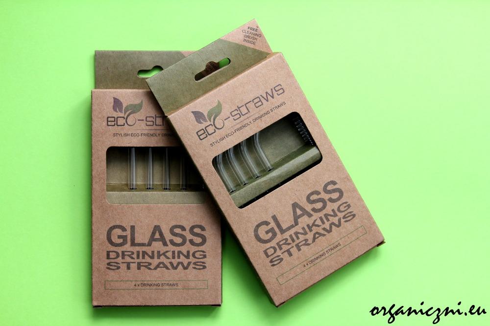 Słomki wielorazowe szklane, Ecostrawz
