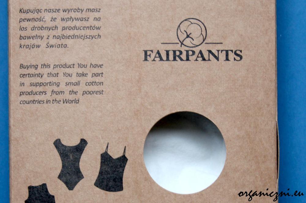 Pudełka Fairpants wykonane są z tektury